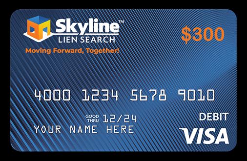 Skyline Lien Gift Card